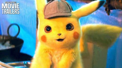POKÉMON Detective Pikachu Trailer NEW (2019)