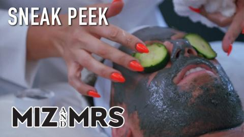 Miz & Mrs   Sneak Peek: Maryse Cleans Out Mike's Pores   S2 Ep12   on USA Network