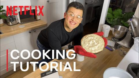 The Great British Bake Off'sMichael Chakraverty Takes On Pumpkin Pie I The Most I Netflix