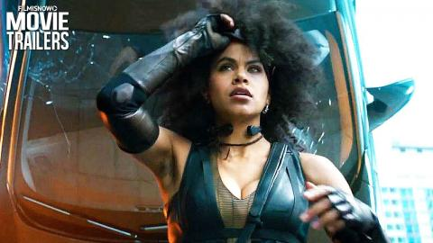 DEADPOOL 2 Movie Clip NEW - Domino Audition
