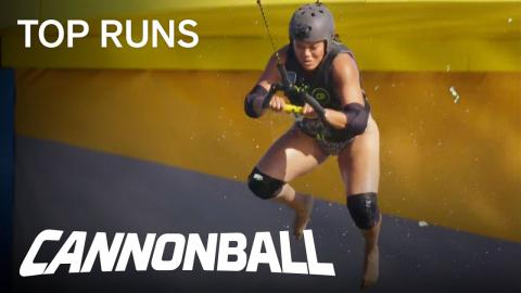 Cannonball | Gabriell's Impressive Speed Skimmer Attempt | Season 1 Episode 3 | on USA Network
