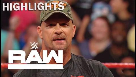 WWE Raw 7/22/2019 Highlight | Stone Cold Steve Austin Toasts Beers To Raw | on USA Network