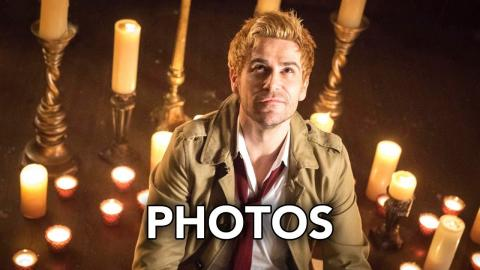 "DC's Legends of Tomorrow 3x15 Promotional Photos ""Necromancing the Stone"" (HD) Constantine Returns"
