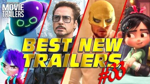 BEST NEW TRAILERS (2018) - WEEKLY Compilation #33