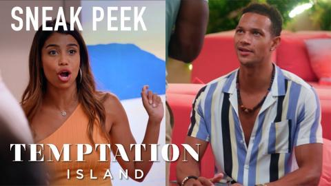 Huge Fight Breaks Out Between Kristen And Evan [SNEAK PEEK] | Temptation Island | USA Network