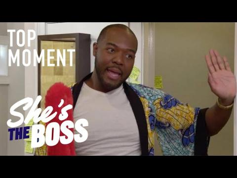 Eddie's Unique Nanny Style Leaves Nicole Puzzled | She's The Boss | USA Network