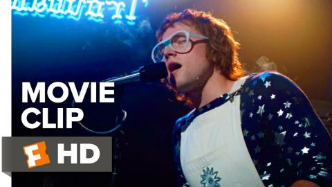 Rocketman Movie Clip - Crocodile Rock (2019) | Movieclips Coming Soon