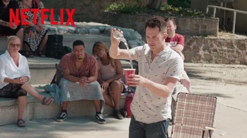 Magic For Humans   Justin Willman Makes This Guy Think He's Invisible   Netflix