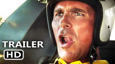 FORD V FERRARI Trailer # 2 (NEW, 2019) Christian Bale, Matt Damon Movie HD