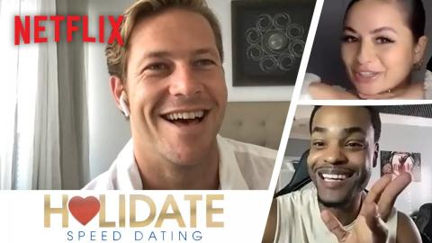 Netflix Stars Go on Dates with Normal People | Holidate