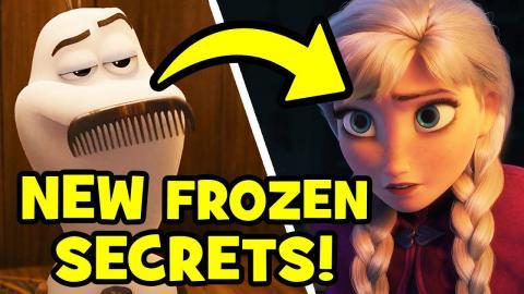 17 HUGE FROZEN Reveals in Disney's ONCE UPON A SNOWMAN