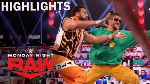 Bad Bunny Defends Title And Lashley Destroys The Miz | Real Fast Recap | WWE Raw 2/22/21 Highlights