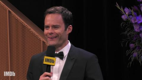Bill Hader Tells Us What It's Like to Be Nominated for Five Emmys