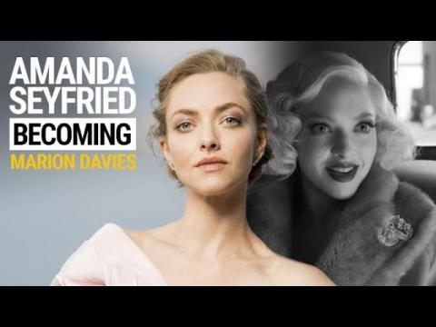 Amanda Seyfried: Becoming Marion Davies in 'Mank'