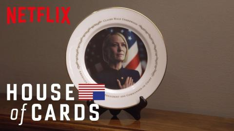 House of Cards | Commemorative Presidential Plate | Netflix