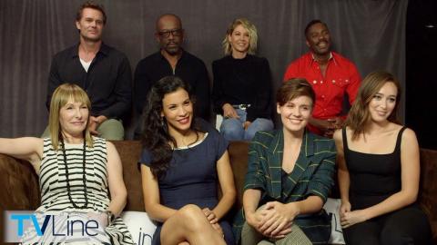 'Fear The Walking Dead' Cast Interview | Comic-Con 2018 | TVLine