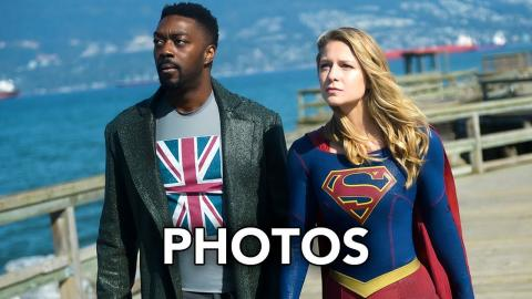 "Supergirl 4x07 Promotional Photos ""Rather the Fallen Angel"" (HD)"