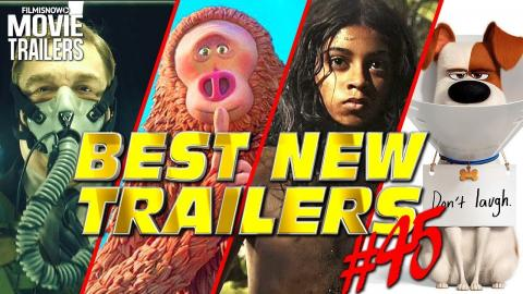 BEST NEW TRAILERS (2018) - WEEKLY Compilation #45