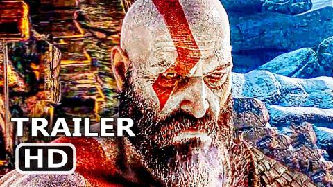 GOD OF WAR Official Final Trailer (2018) Action Game HD