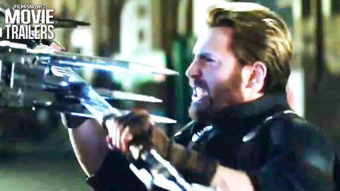"""AVENGERS: INFINITY WAR """"Black Order Fight Scene"""" Clip NEW"""