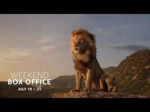 Weekend Box Office: July 19 to 21