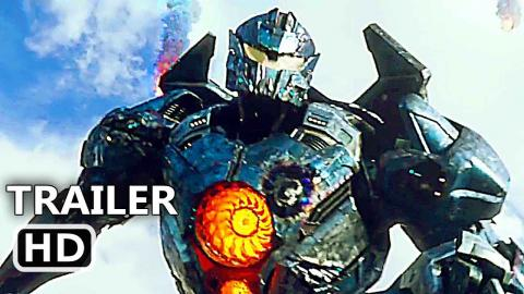 PACIFIC RIM 2 Official Trailer # 2 (2018) Uprising, Fighting Robot Movie HD