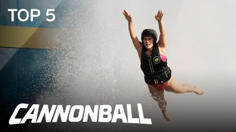 Cannonball | TOP 5: Week 3 Thrills And Spills | Season 1 Episode 3 | on USA Network