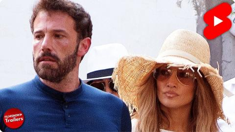 Ben Affleck & Jennifer Lopez back together! Surprised crowds in Italy #Shorts