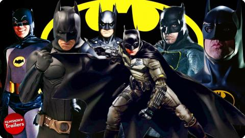 BATMAN Ultimate Compilation - All Movie Trailers (1966-2022)