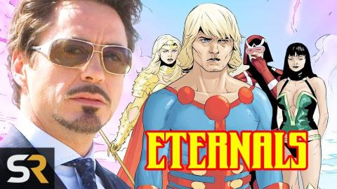 Marvel Theory: Iron Man 3 Introduced The Eternals To The MCU