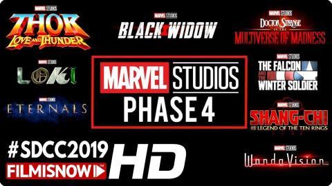 MARVEL Phase 4 SDCC Panel 2019   Thor 4, Loki & Other New Titles