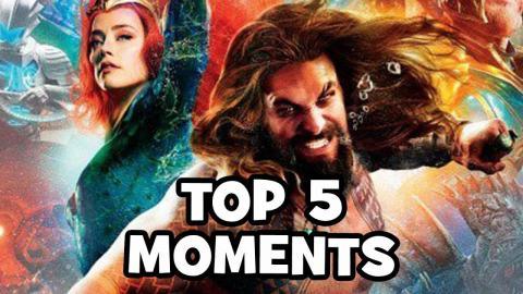 AQUAMAN TRAILER Top 5 WTF Moments & Easter Eggs