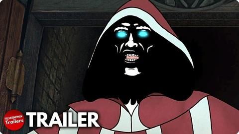 THE SPINE OF NIGHT Trailer (2021) Lucy Lawless, Patton Oswalt Animated Fantasy Horror