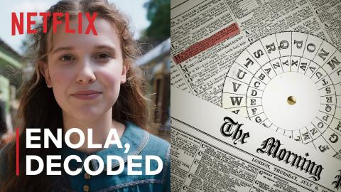 The Strange History Behind Millie Bobby Brown's Secret Codes | Enola Holmes
