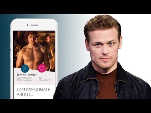 """Outlander"" Star Sam Heughan Creates Jamie Fraser's Online Dating Profile"