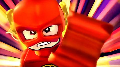 """LEGO DC SUPER HEROES """"The Flash"""" First Movie Clip (2018) Animation"""
