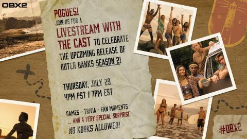 Outer Banks Cast celebrate Season 2 with a very special surprise! + BTS moments, trivia, & fan fun!