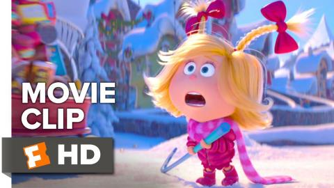 The Grinch Movie Clip - Cindy-Lou Crashed Into the Grinch (2018)   Movieclips Coming Soon