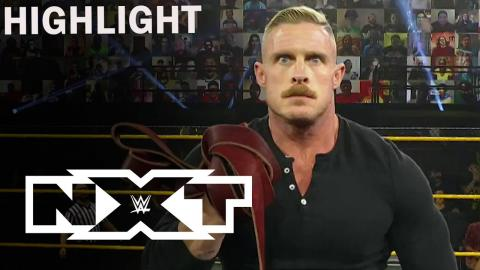 WWE NXT 12/2/20 Highlight | Dexter Lumis Surprises Cameron Grimes After His Victory | USA Network
