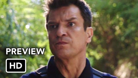 The Rookie Season 3 First Look Preview (HD) Nathan Fillion series