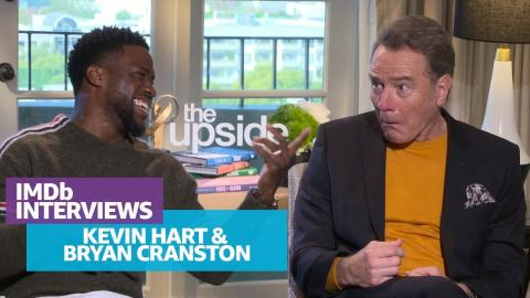 Bryan Cranston and Kevin Hart Hilariously Impersonate Each Other
