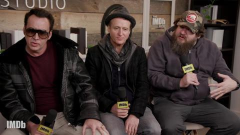 Nicolas Cage and Linus Roache Talk About Sundance Film 'Mandy' | IMDb EXCLUSIVE