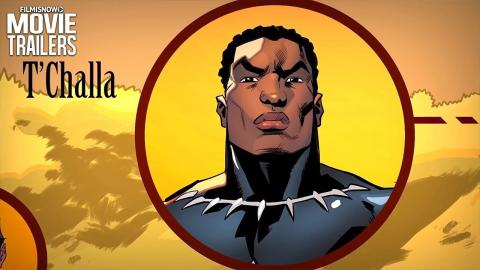 Marvel's BLACK PANTHER | Discover the orgins of the Wakanda Royal Family