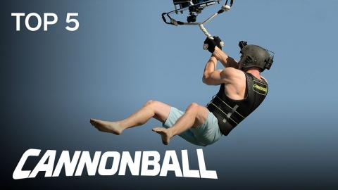 Cannonball | TOP 5: Week 2 Thrills And Spills | Season 1 Episode 2 | on USA Network