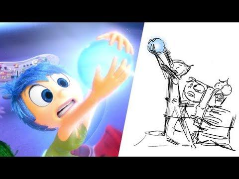 Inside Out: Riley's First Day of School | Pixar Side by Side