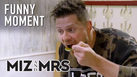 Miz & Mrs | Mike Tries To Break Pea Soup Record | Season 2 Episode 12 | on USA Network