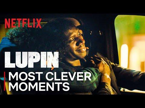Assane's Most Clever Moments | Lupin | Netflix