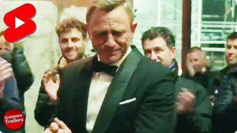 NO TIME TO DIE - Daniel Craig Gets Emotional in Goodbye Speech #shorts