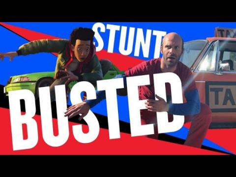 'Spider-Man: Into the Spiderverse' | STUNT BUSTED