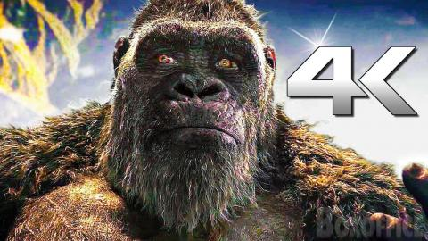 GODZILLA VS KONG 4K Trailer (2021)